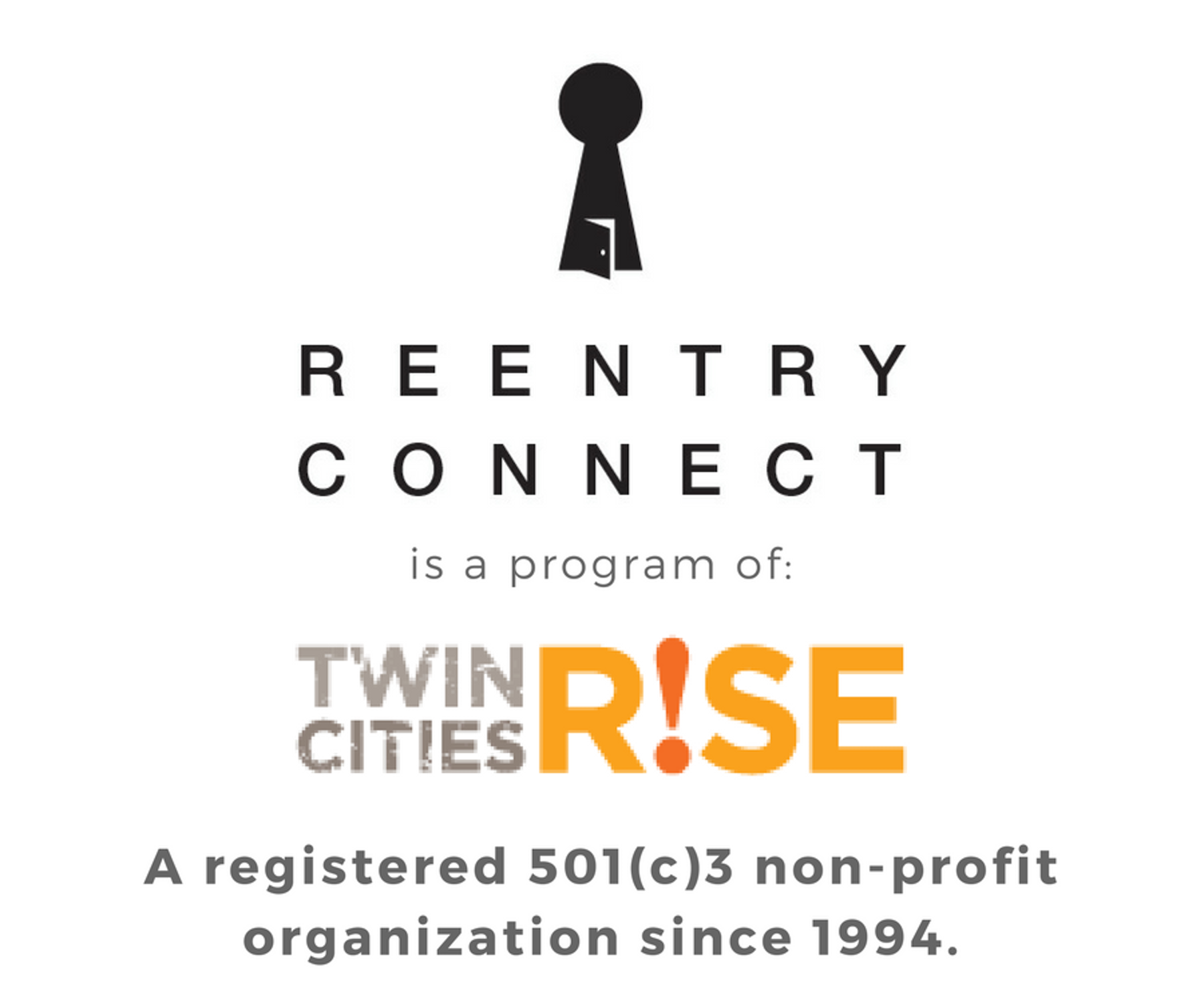 Reentry Connect is a Program of Twin Cities R!SE