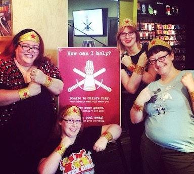Team GeekGirlCon at the 2014 Gauntlet