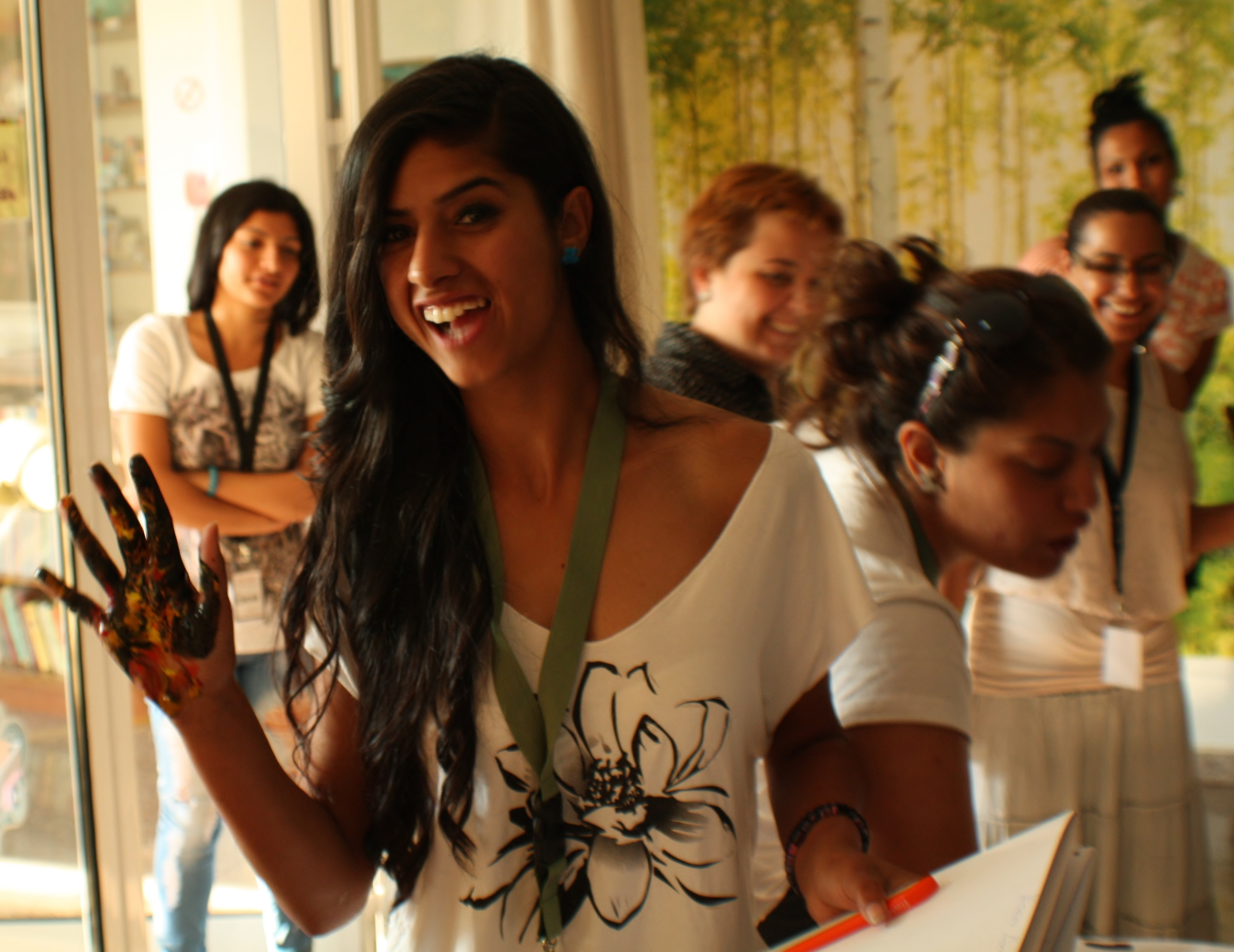 National Roma Young Women Camp 2016