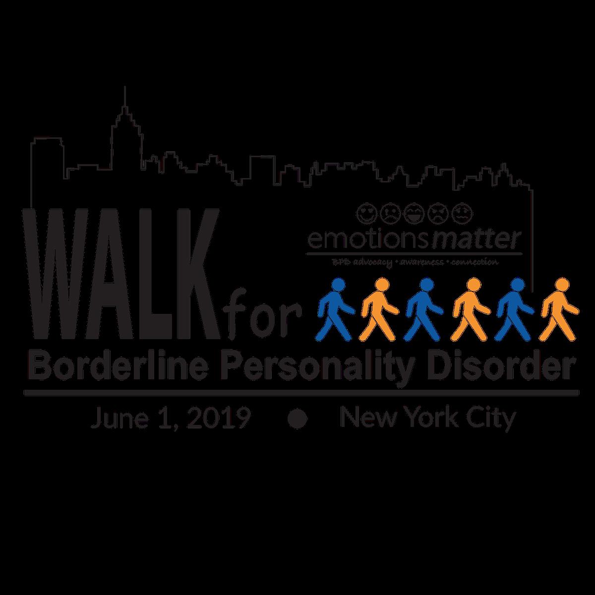 Walk for Borderline Personality Disorder 2019