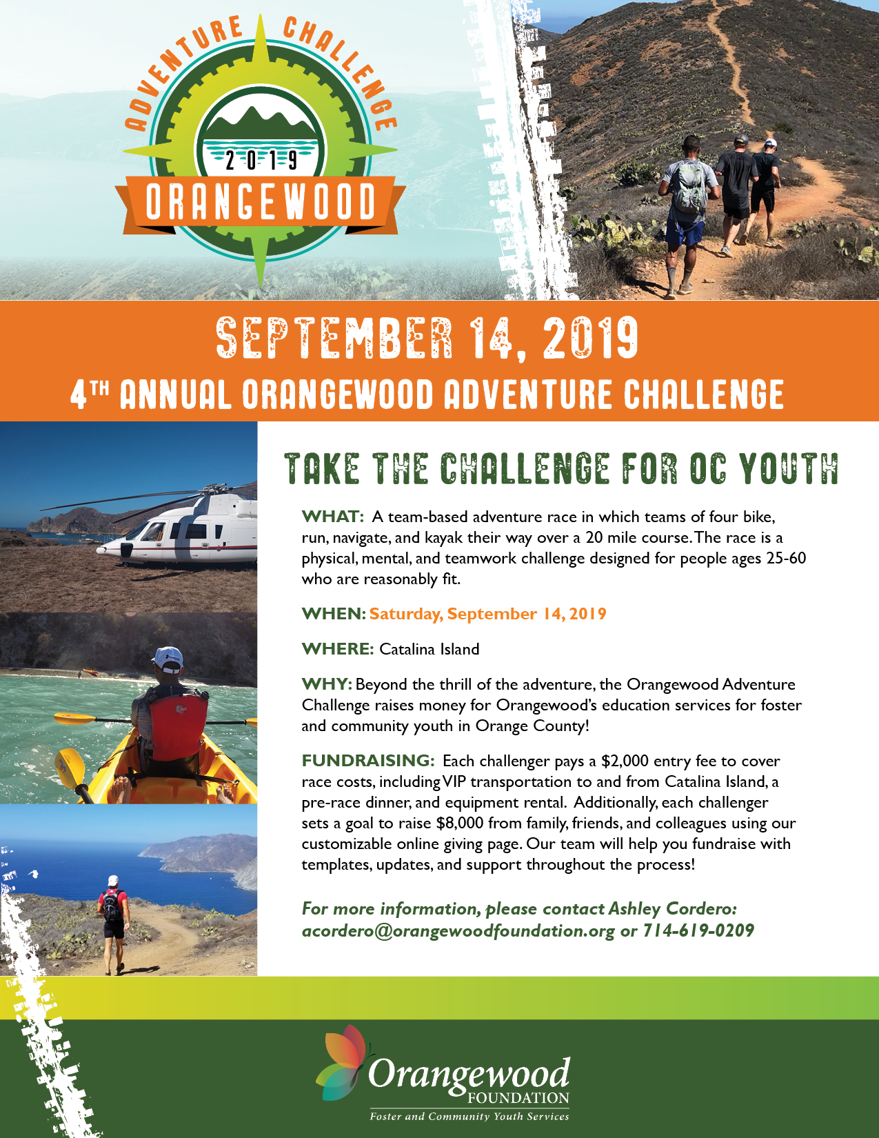 SAVE THE DATE - SATURDAY SEPTEMBER 14, 2019